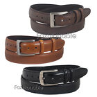 "Mens Leather 1 1/2 inch Belt Smart Casual Heavy duty handcrafted sizes 32""-51"""