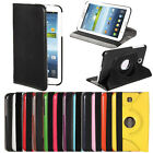 "360°Swivel PU Leather Case For Samsung Galaxy Tab 3 7.0 7"" P3200 P3210 T210"
