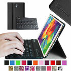 "Bluetooth Keyboard Slim Leather Case Cover For Samsung Galaxy Tab S 8.4"" inch"