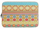 "Mosiso Bohemian Canvas Fabric Sleeve Case Bag Cover for 11,13,15 "" Laptop"