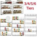 4/5/6 TIER SPICE HERB JAR RACK HOLDER FOR KITCHEN DOOR CUPBOARD STORAGE OR WALL
