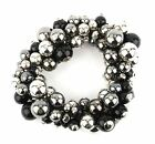 Zest Beautiful Elasticated Bracelet with a Mix of Beads