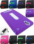 FOR SONY XPERIA T2 ULTRA D5303 RUGGED ARMOR IMPACT CASE COVER+STYLUS/PEN