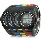 Fashion Men's Silicone Rubber Band Waterproof Sport Mens Wrist Watch Clock