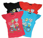 Girls T shirt Lovely Choice of Colours Bargain Ex Store 2-4 years