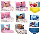 Childs 2pc Toddler Bed PILLOWCASE+Fitted SHEET SET Boys+Girls TV Characters Room