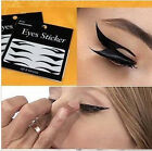 Fit 4 color Super Temporary tattoo stickers style eye shadow eyeliner transfers