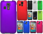 Kyocera Hydro Life C6530 Rubberized Hard Protector Case Cover + Screen Protector