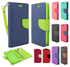 For Kyocera Hydro Life C6530 Premium Leather 2 Tone Wallet Pouch Flip Cover
