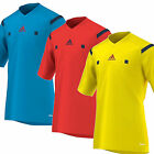 Adidas Referees Football Shirt Short Sleeve  2015/16 New Mens & FREE Whistle