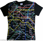 T-shirt officiel mode RATP Plan Metro carte Subway PARIS France Taille S / M / L