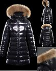 2014 New Women's Outdoor 90% Down Parka 100% Real fur Black Coat/ Jacket 4 size