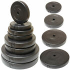"VINYL WEIGHT PLATES/DISCS 1"" HOLE HOME GYM TRAINING/LIFTING DUMBBELL/BAR WEIGHTS"