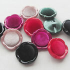 E651 New 20pcs Lady Velvet Buttons Overcoat Buttons Sewing Craft Lots Bulk Mix