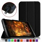 For NVIDIA SHIELD 2 Tablet 8-Inch Folio Case Leather Cover Auto Sleep/Wake Stand