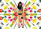 Poster / Leinwandbild fruits - studio43