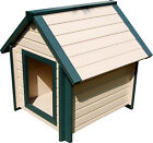 ecoFLEX Bunkhouse X-Large dog house to 150 Lbs 10 yr warranty / Maintenance Free