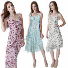 NEW Sz Summer Tea Embellished Chiffon Beaded Party Lace Pink Dress