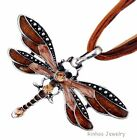 6 p wholesale mix color dragonfly vintag necklaces rhinestone&alloy jewelry