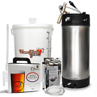 St Peters Micro Brewery With Barrel / Keg Home Brew Beer Making Starter Kit