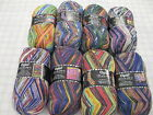 Opal sock yarn Hundertwasser 1 skein  -75% wool 25% nylon superwash 100g 450y