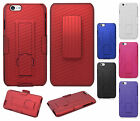 Apple iPhone 6 4.7 COMBO Belt Clip Holster Case Cover Kick Stand + Screen Guard