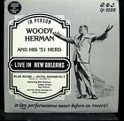 WOODY HERMAN live in new orleans LP Mint- GOJ-1022 Mono Vinyl Record