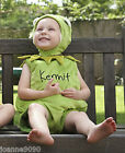 Baby Toddler Kermit the Frog Muppets Disney Boys Girl Fancy Dress Costume Outfit