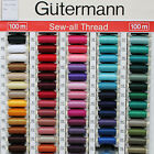 Gutermann Sew-All Sewing Machine Thread 100m Reel in Choice of Colours Group 1