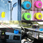 Waterproof Wireless Bluetooth Stereo Suction Shower Speaker Car Handsfree Mic