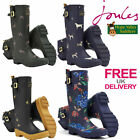 Joules Wellyprint Ladies Wellies Wellys (R) **FREE UK SHIPPING**
