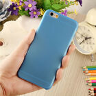 0.3mm Ultra Thin Matte Transparent Protective Case Cover For iPhone6