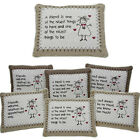 BEST FRIEND CUSHIONS PILLOW SOFT CUDDLY MESSAGE GIFT SENTIMENTAL HOME DECORATION