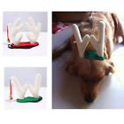 Christmas Dog Reindeer Headpiece Pet Costume Accessory Pet Plush Antlers Bell