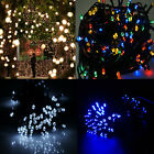 12M 100 LED Solar Powered String Fairy Light Party Garden Christmas Decoration