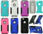 For Apple iPhone 6 4.7 G Case HYBRID KICKSTAND Rubber Phone Cover Accessory