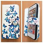 FLIP WALLET LEATHER CASE COVER FOR APPLE iPHONE 4 4S 5 5S 5C SE 6 6s 7 -