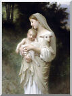 Innocence by William Bouguereau Painting Reproduction Stretched Giclee Art Print