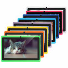 "7"" iRULU 8GB Multi-Color Tablet PC Android 4.4 Quad Core Dual Camera A33 HD WIFI"