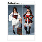 Butterick 6114 Sewing Pattern to MAKE Pirate, Principal Boy Pantomime Costumes