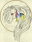 Native Spirit Horse Machine Embroidery Designs Set of 10 On CD