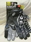 NWT $45 UNDER ARMOUR WARP SPEED FOOTBALL RECEIVER GLOVES ARMOUR GRABTACK 1230450