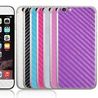 Carbon Fibre Style Vinyl Decal Kit Skin Sticker For iPhone 6 Plus 5.5 Inches