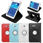 360°Swivel PU Leather Case Stand For Samsung Galaxy Tab 3 Lite 7.0 T110 T111