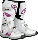 Alpinestars Stella Tech 3 Womens Offroad Boots White/Violet Size 6-10