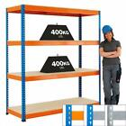 Heavy Duty Shelving Racking Storage 400kg UDL Speedy1 Warehouse Chipboard Shelf