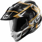 Arai XD4 Helmet Diamante Black/White/Gold XS-2XL