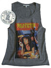 Junk Food Pulp Fiction Easy Rider Tank Distressed Neck Tri-Blend Fabric NEW SALE