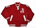 Veste de baseball Bullies Red Varsity Jacket