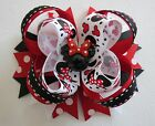 MINNIE MOUSE hair bow headband BIG Boutique Disney Red Black resin Cici's